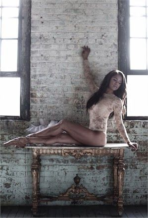 """Misty Copeland was the first African-American women to be named a principal dancer. She started at age 13 and was rejected for """"not having the right body"""". Was able to dance en pointe within 3 months of her first ballet class. She became the cover for TIME's 100 Most Influential People."""