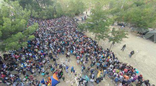 «Ασφυξία» στην Ειδομένη με 7.000 πρόσφυγες