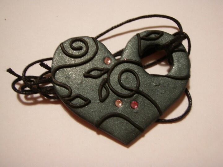 #fimo #handmade  Sweetheart <3  www.facebook.com/perlinefantasiose