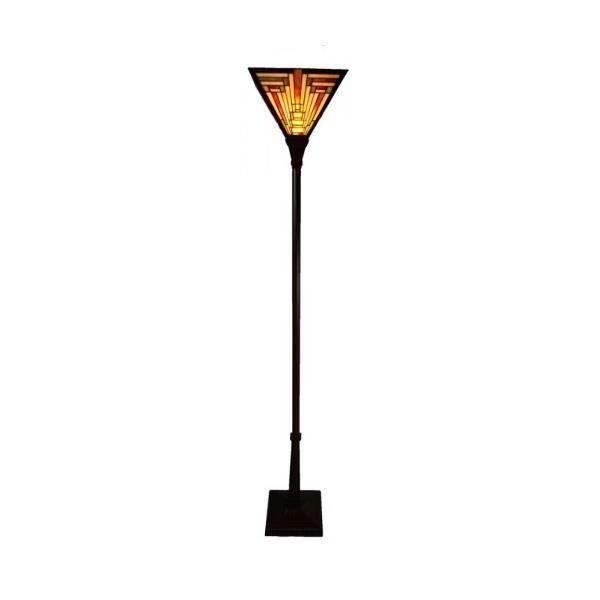 Bingli International Boston Triangle Uplight Tiffany Floor Lamp   Floor Lamps for sale in Faulconbridge