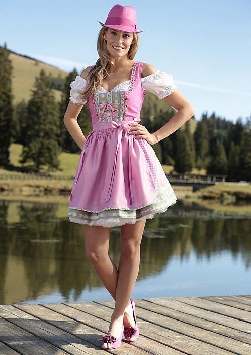 2013 gehts aufs #Oktoberfest mit einem #Dirndl in Pink <3. Wiesn-Outfit gefunden bei #Trachtenmode2013