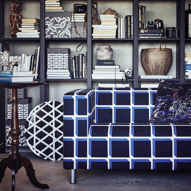 AVSIKTLIG limited collectie klippan bank #ikea #interieur