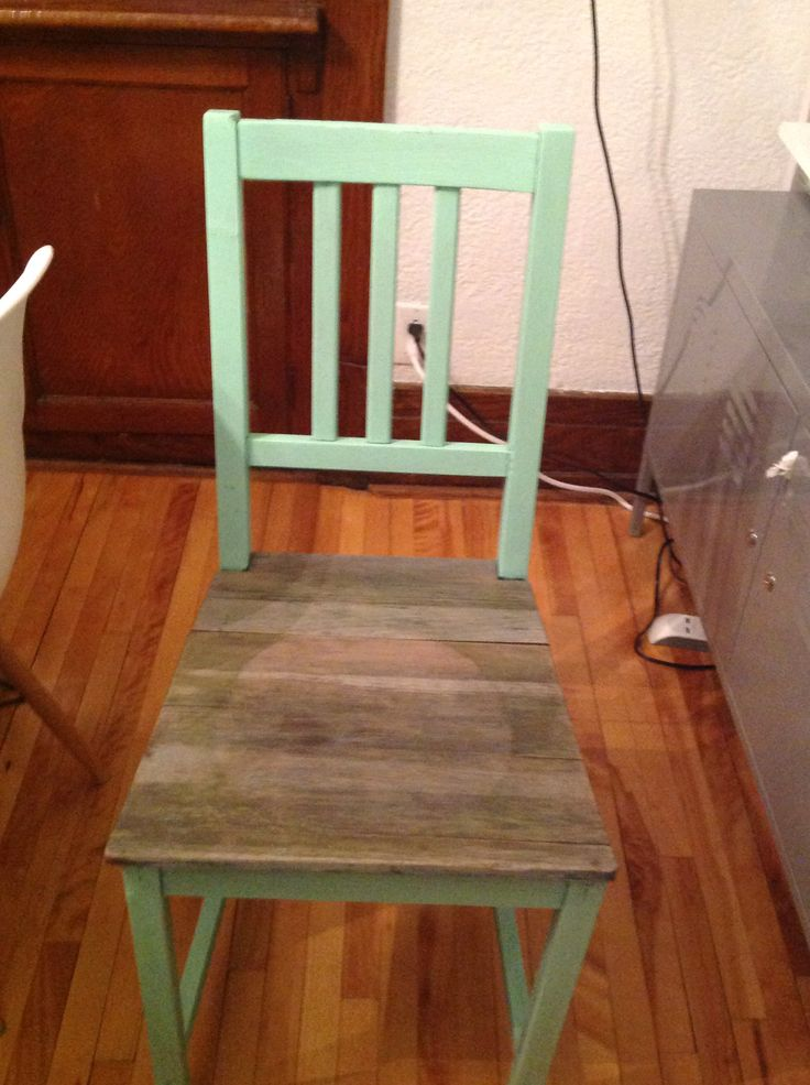 Upcycled chair - Au Chalet Vintage