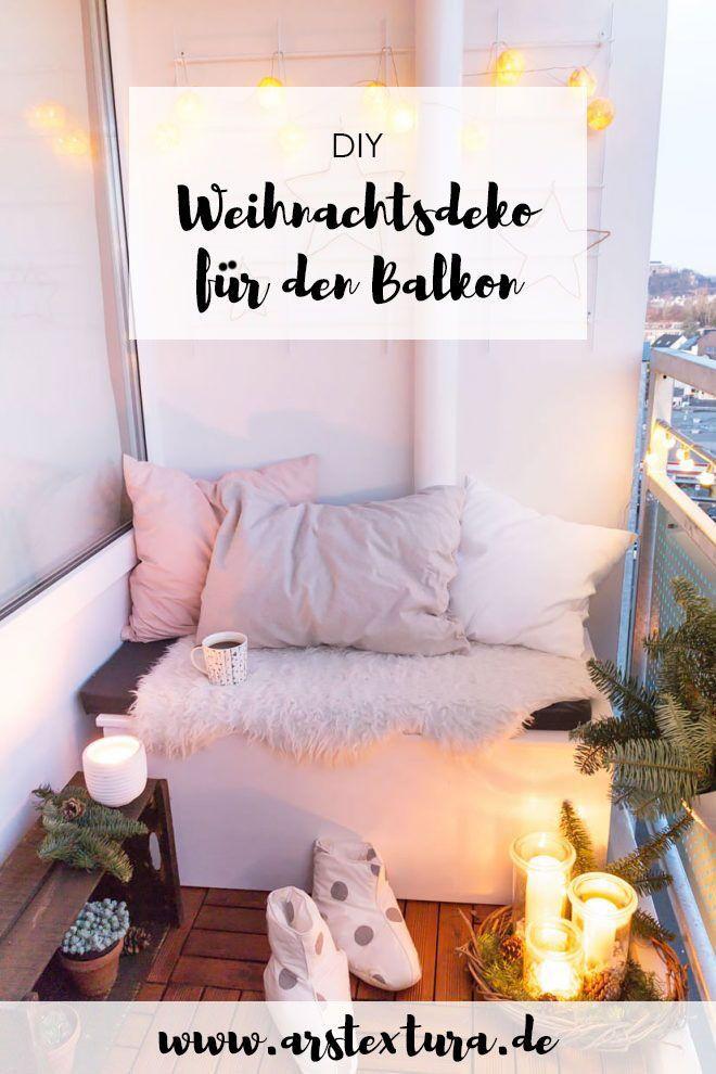 5* Weihnachtsdeko für den Balkon | DIY Blogger | Pinterest ...