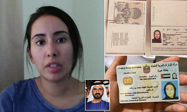 'Princess'/'daughter' of Dubai's ruler Sheikh Mohammed claims she has fled the country after being 'drugged and jailed for three years in the Arab state'http://ift.tt/2Gk1Rux