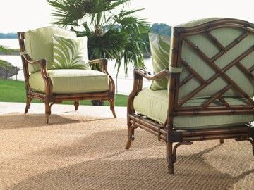 Veranda outdoor lounge chair. Perfect for warm Hawaii and California weather.