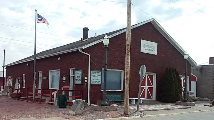 5. Clinton County Historical Society Museum, 601 S 1st St., Clinton