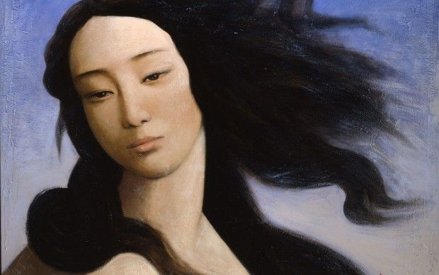 2._Venus_after_Botticelli_2008_by_Xin_Yin_Guillaume_Duhamel._Private_collection_courtesy_Duhamel_Fine_Art_Paris