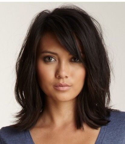 Haircuts For Medium Length Dark Hair | Hair