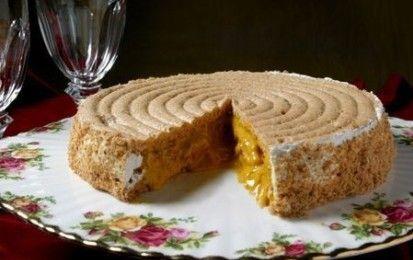 Torta elvezia - Ecco la ricetta della torta elvezia, ideata da una famiglia di pasticceri svizzeri trapiantati a Mantova. Un trionfo di gusti diversi e tutti buonissimi!