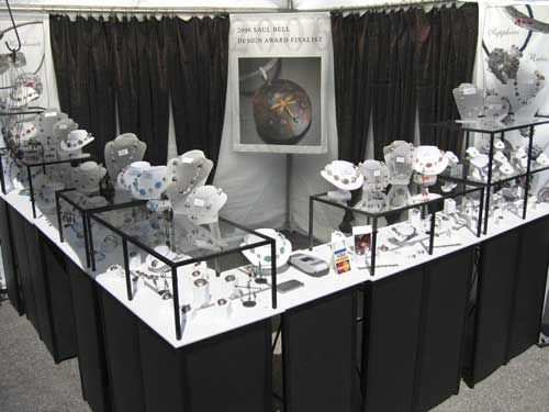 Trade Jewellery Stands : Best art show displays images on pinterest
