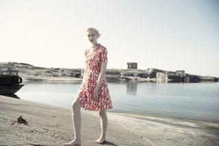 Marjatta dress. Shop: http://shop.ivanahelsinki.com/collections/moomin-by-ivana-helsinki/products/marjatta