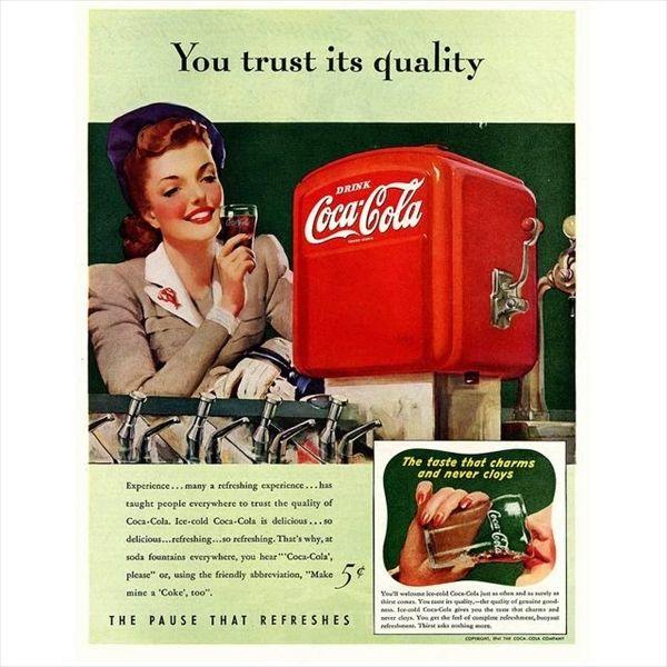 1950年から1960年台にかけて制作されたレトロなコカ・コーラの広告【画像45枚】 - http://naniomo.com/archives/8611
