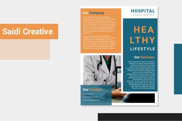 Hospital Flyer Template Free Download On Word File