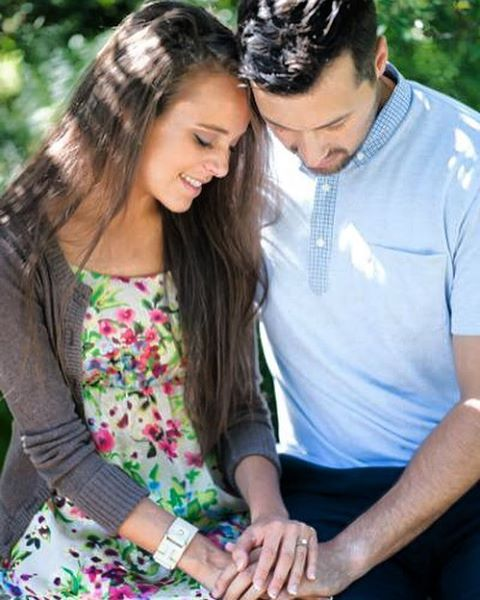 Photo from Jinger Duggar and Jeremy Vuolo's engagement shoot.