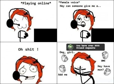 Hahahaha ew this is too true.... Now I just have Chris talk loudly so they can hear that I have a bf