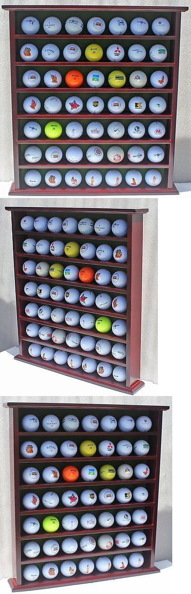 Other Golf 630: 49-Ball Display Case Cabinet Rack, No Door, Mahogany Finish Gb20-Mah -> BUY IT NOW ONLY: $39.3 on eBay!