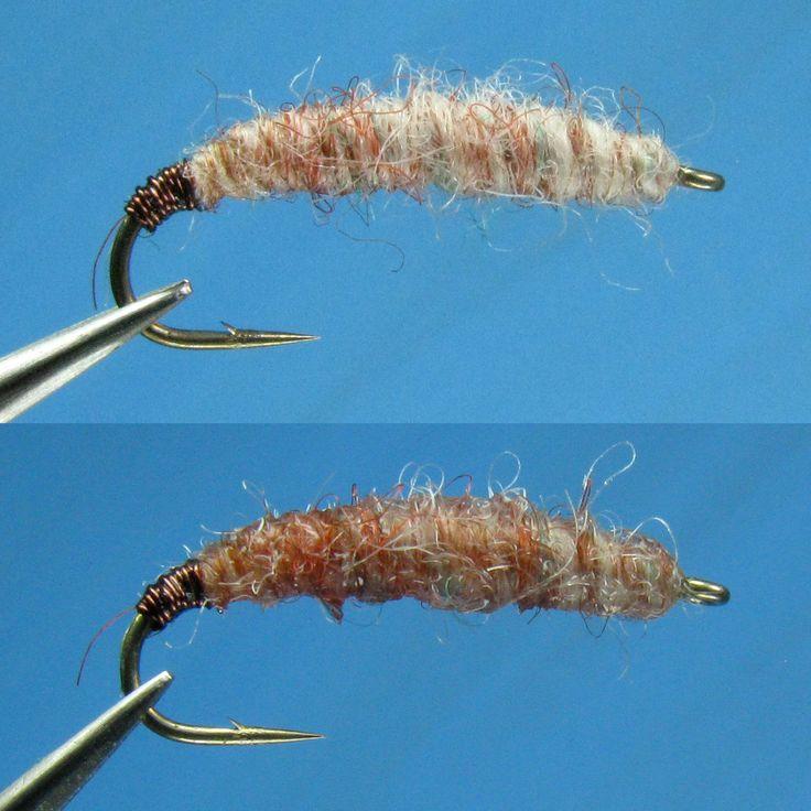 Utah Killer Bug Nymph (dry/wet) - Yarn from TenkaraBum, Chris Stewart - by William Anderson - WilliamsFavorite.com - Frank Sawyer Nymph