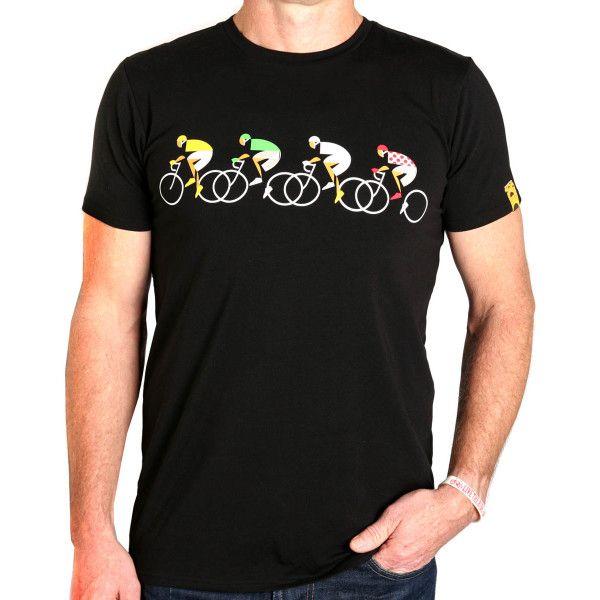 Men's cycling fixation t shirt