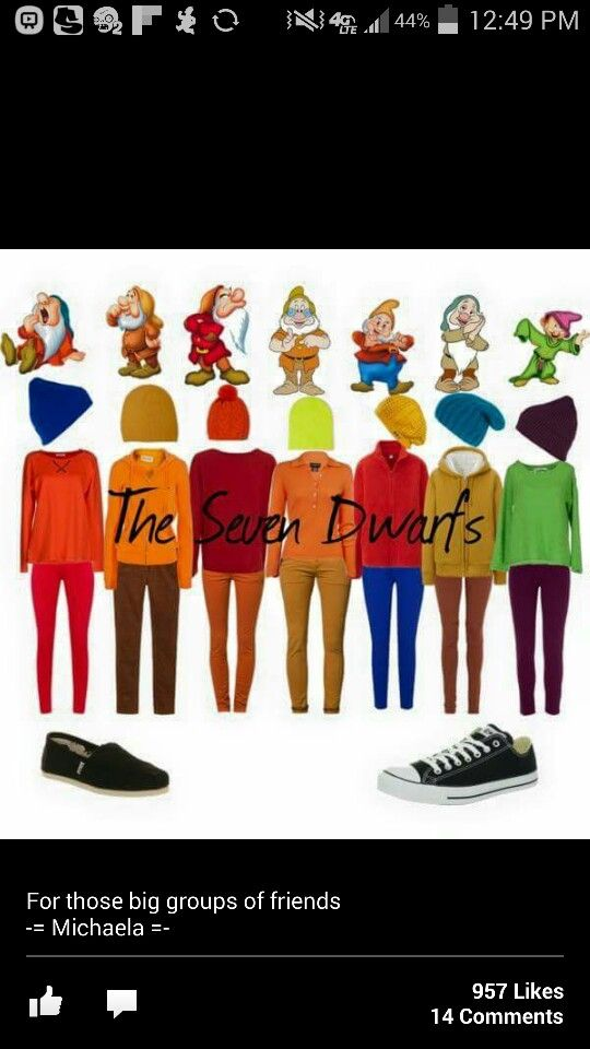 The seven dwarfs costume!                                                                                                                                                      More                                                                                                                                                                                 More