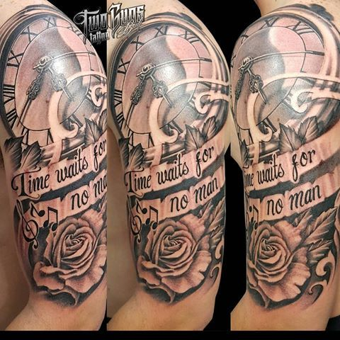 31 best Time Waits For No Body Tattoo Designs images on ...