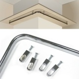 Complete Closet Rods Kits Include Hanging Rods And Mounting Flanges.