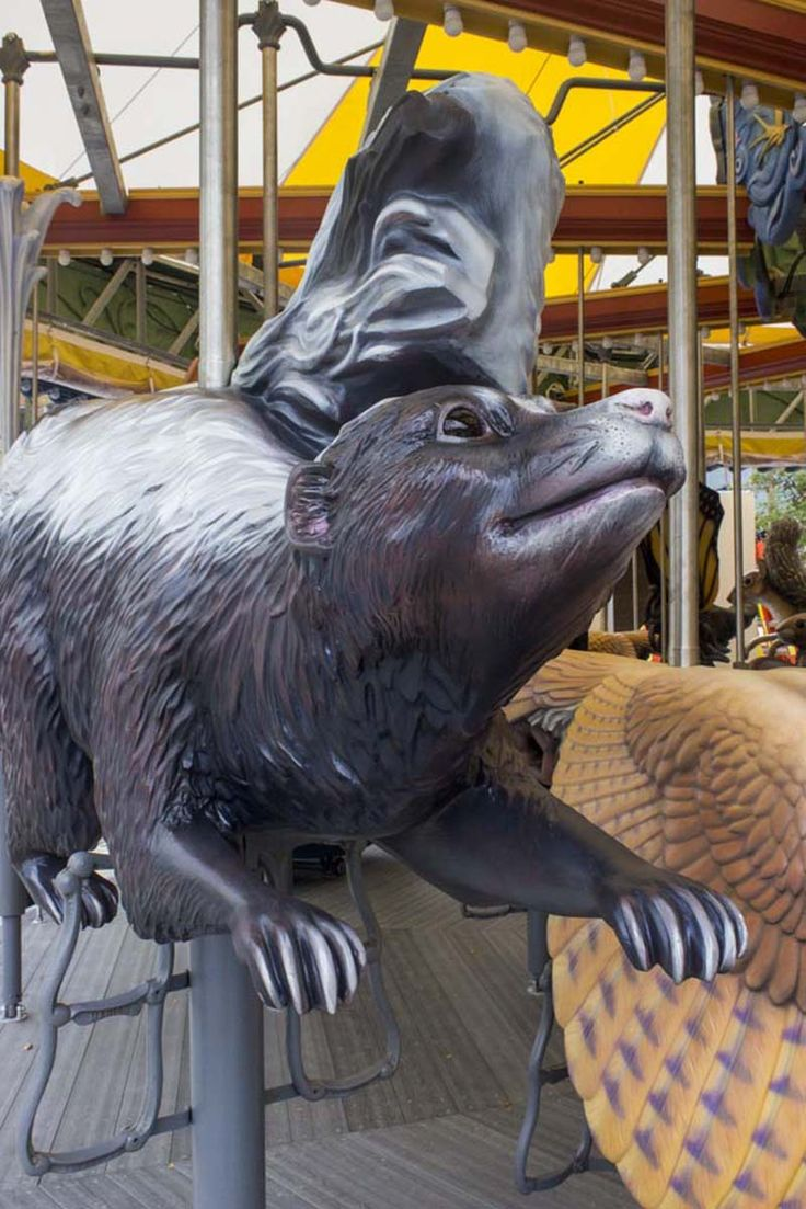 Photos preview the new greenway carousel on the rose kennedy greenway