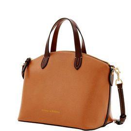 Dooney & Bourke | Leather Small Gabriella | Must Have Fashion    Black Handbag | Black Accessory | Black Accessories | Black Purse |Neutral Handbag | Neutral Accessory | Neutral Accessories | Neutral Purse |  Fashion | Style
