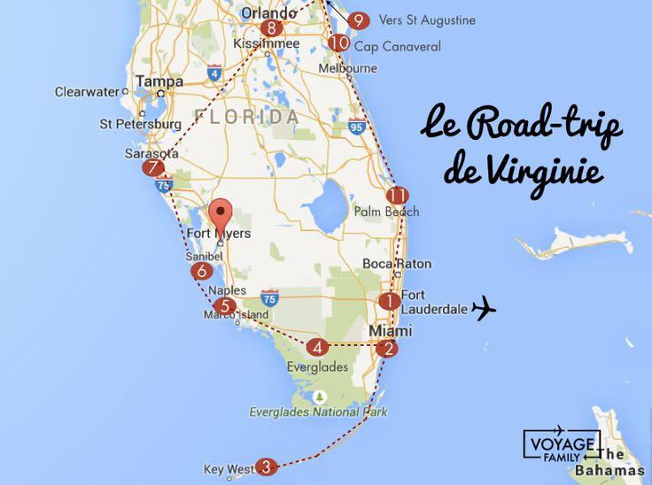 Voyage et road-trip en Floride en famille avec enfant et bébé - VOYAGE FAMILY