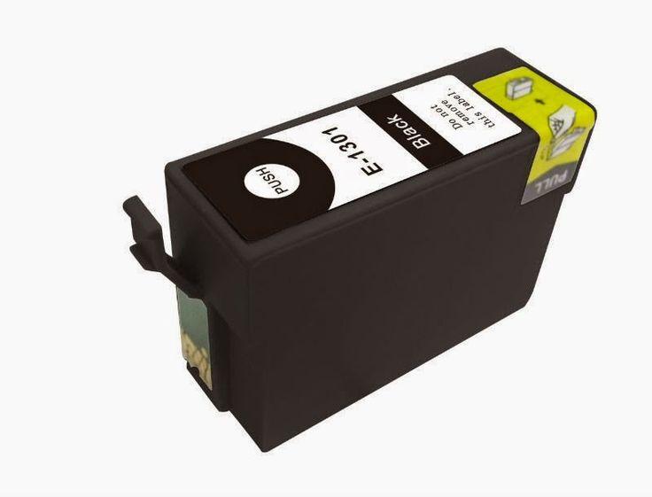 cartuchos de tinta compatibles: Tinta compatible epson c13t13014010 t1301 negro - ...