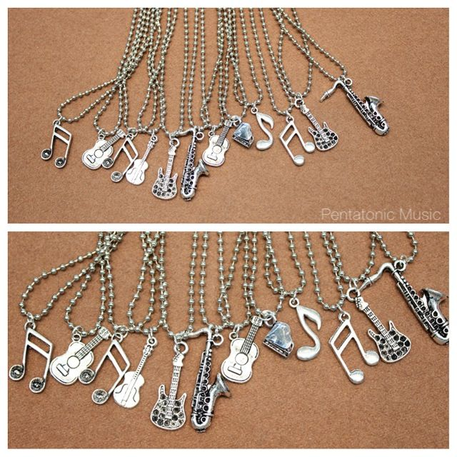 Musical Necklace Silver Price : 38.000 IDR Follow Instagram : pentatonicmusic