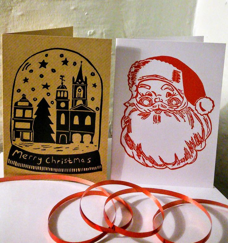 We're getting so close to #December now and it won't be long until the last #post dates to send cards overseas start to roll around!! Snap up these #handmade #linoprint #cards whilst there's still time!! You can place a direct order for a small discount by contacting me or you can buy them via Etsy (link in bio). #linocut #Christmascards #linoprint #printmaking #Fatherchristmas #Santaclaus #saintnick #snow #globe #town #marketsquare #Faversham #Kent #handmadebyhaggy