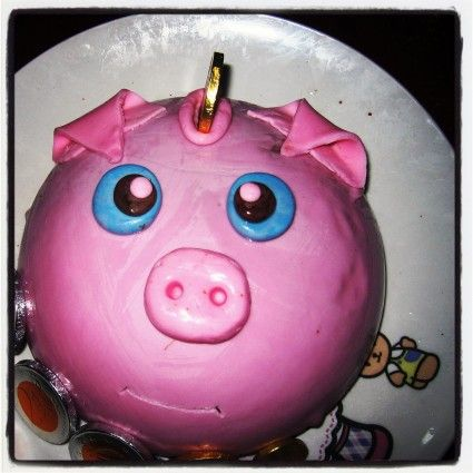 I want a PIG CAKE!