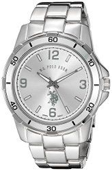 U.S. Polo Assn. Classic Men's USC80296 Analog Display Analog Quartz Silver Watch