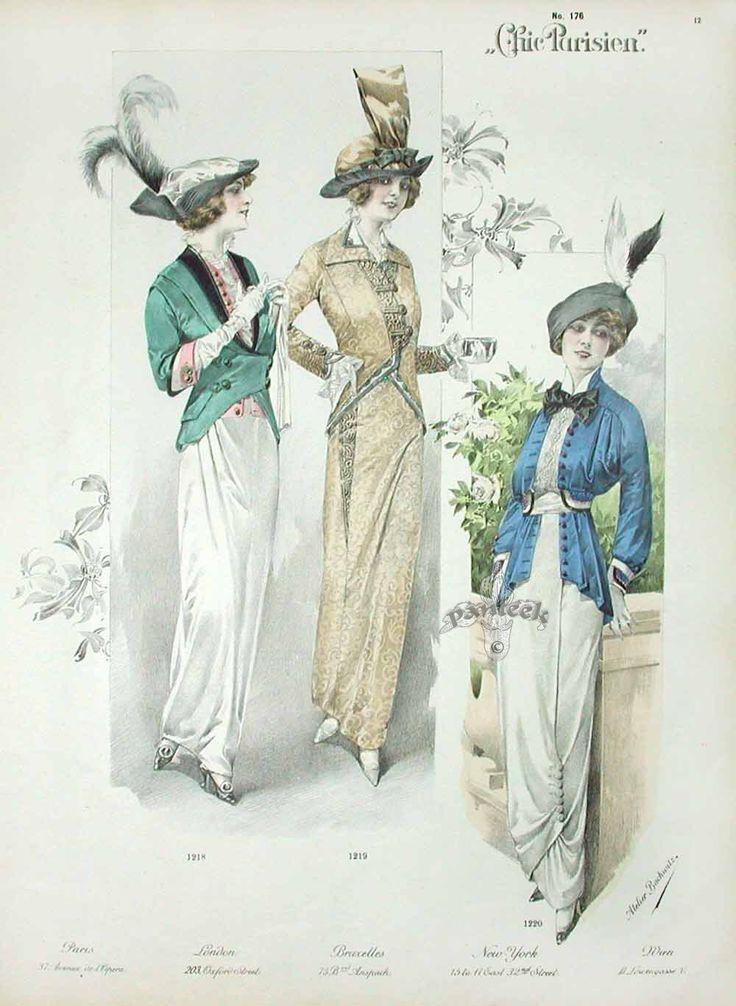 Chic Parisien, 1913