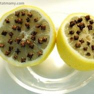 Keep wasps and bees away this summer. Put about 10 cloves in 1/2 a lemon and set out. They do not like the scent.  For Outdoor gatherings.