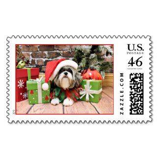 Christmas - Shih Tzu - Vince Postage