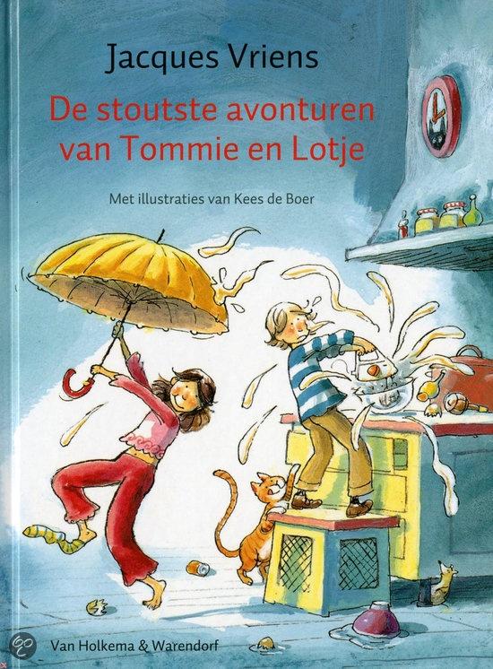 bol.com | De Stoutste Avonturen Van Tommie En Lotje, Jacques Vriens | Boeken