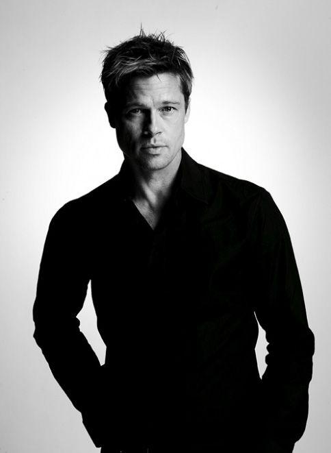 Brad Pitt. Still love him.   Beard or no beard he will always be my number one.