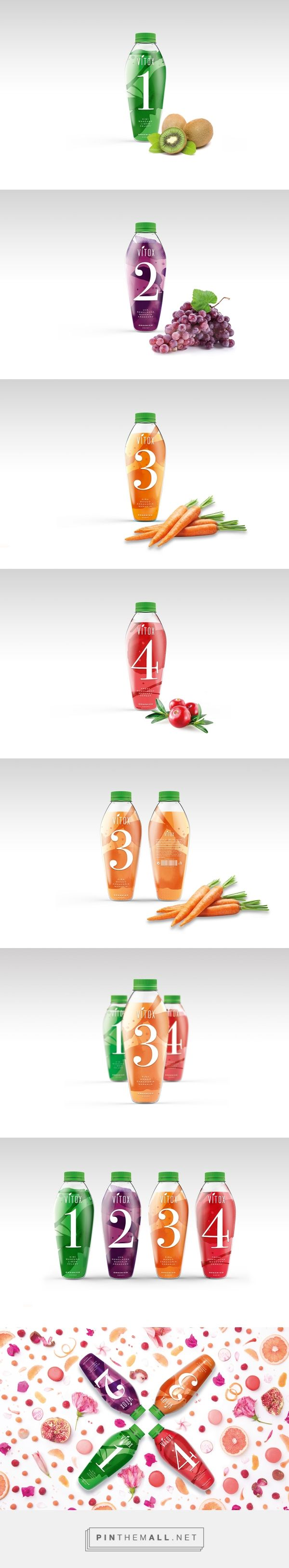 Vitox Juice by Pin curated by Barbara Gonzalez, ElisavaPack and Valentina Uribe.#SFields99 #packaging #design