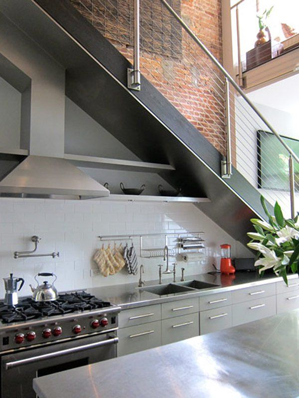 Amazing 18 Creative Ways To Use The Space Under Your Stairs. Kitchen ... Part 14