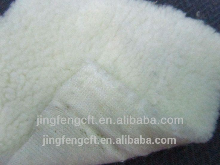 Panda Polar Cationic Fleece Fabric with one side brushed