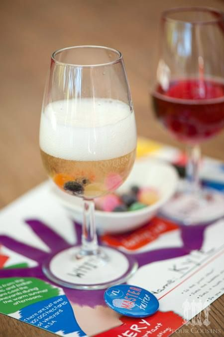Something for the kids! While you enjoy your wine pairing, let them enjoy theirs. #Kids #NonAlc #WackyWine