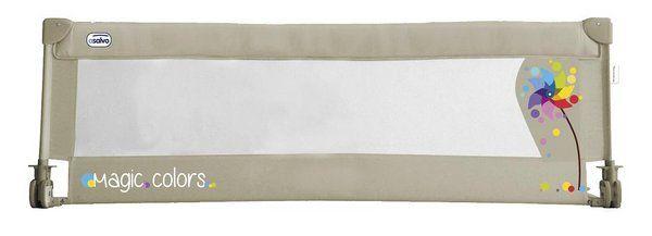Las barreras de cama están pensadas para los niños que pasan de la cuna a la cama, son la opción ideal para garantizar un sueño seguro. Se instala fácilmente gracias a las correas de velcro...