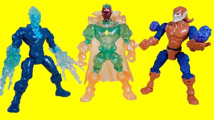 Superhero Marvel - Super hero mashers Toys - Hobgoblin - Vision - Electr...