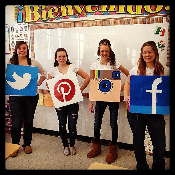 Pin for Later: 58 Epic Costumes For Geeky Groups Social Media Apps