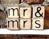 Ceramic Letter Blocks
