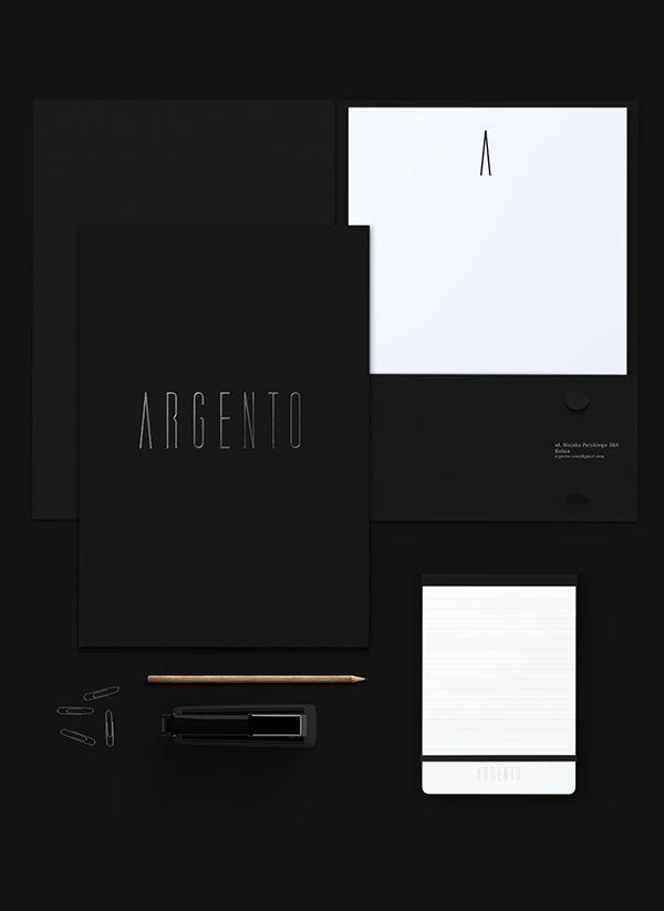 Argento. Jewelry salon. on Behance