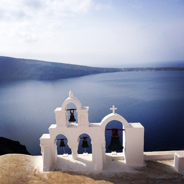 Magestic view! #VarietyCruises #Travel #Santorini #cruise Photo credits: @revonica