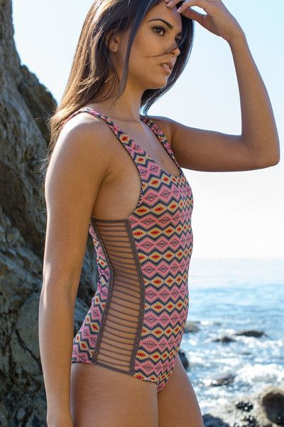 The Girl And The Water Acacia Swimwear Bordeaux One